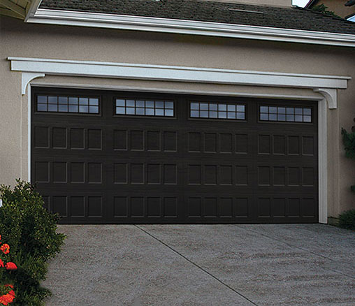 Residential garage doors for Composite wood garage doors