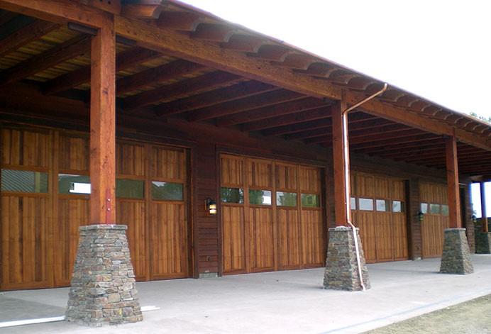 Wood & Composite Garage Doors