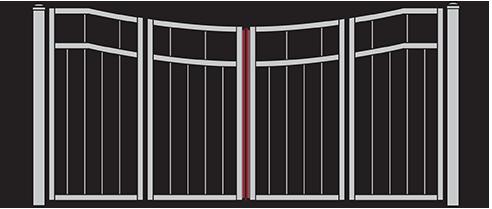 Four-Fold Gates