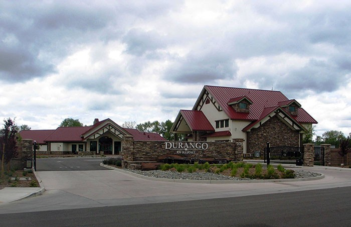 Durango Resort gates
