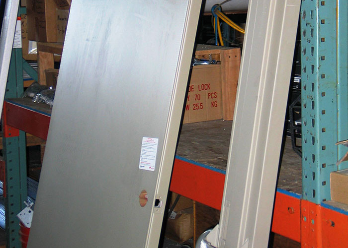 Hollow Metal Doors In Steel And Stainless Steel