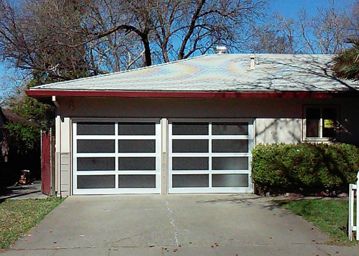Aluminum U0026 Glass Garage Door