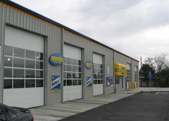 Sectional Steel Garage Doors The Door Company