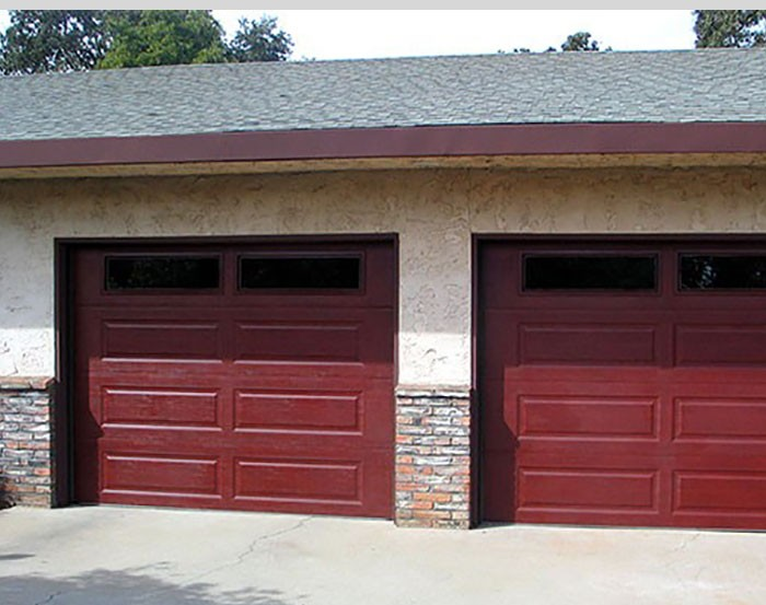 Stamped Steel Garage Doors The Door Company
