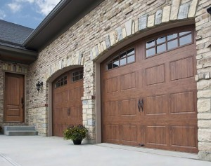 Stamped Steel Garage Door