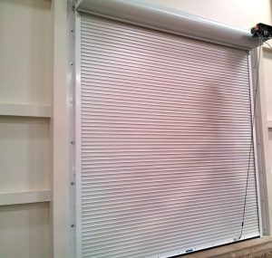picture of a coiling fire door
