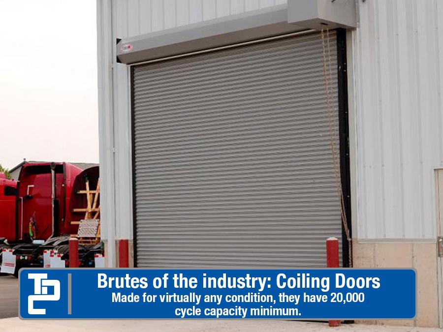 Heavy Duty Coiling Doors