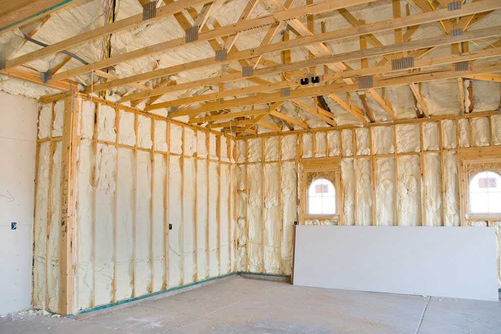 insulating the garage